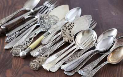 How to Identify Valuable Silver Flatware