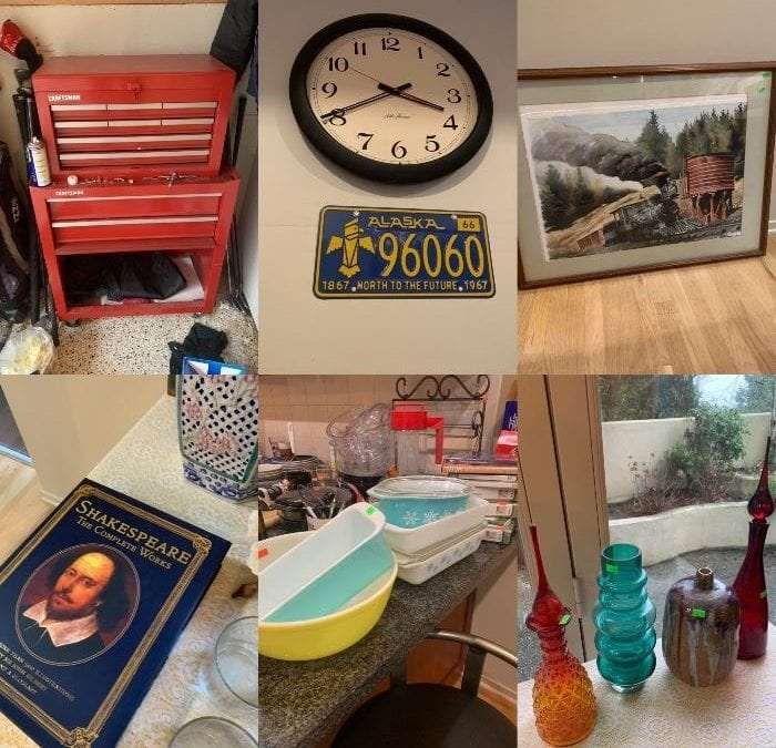 50% off ALL Sunday! Free Furniture! Madrona/Leschi Estate Sale All Goes-Entire House!