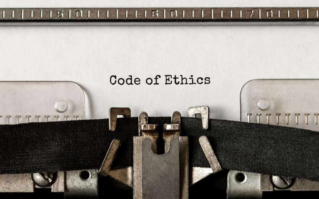 appraisers code of ethics