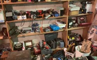 8/14 – 50% Kenmore – MORE TOOLS / TOOL Room RESTOCKED ++ BOOKS/ RECORDS FINAL DAY DEALS! PILES